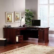 l shaped desk glass 100 altra the works l shaped desk tribesigns modern l