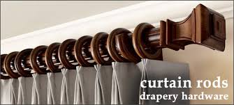 Cambria Wood Curtain Rods Curtain Holder Home Design Ideas And Pictures