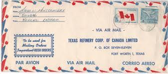 Canadian Flag 1960 Postal History Corner The Canadian Flag