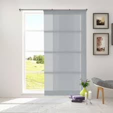 Sliding Panel Curtains Chicology Adjustable Sliding Panel Cut To Length Curtain Drape
