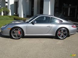 porsche 4s 2011 gt silver metallic 2011 porsche 911 4s coupe exterior