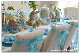 Easter Bunnies For Decorations by Decorating The Table For An Easter Celebration Toot Sweet 4 Two