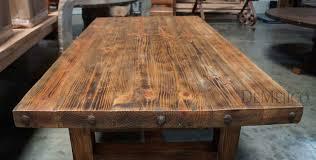 Rustic Wooden Desk Rustic Wood Plank Desk Best Home Furniture Decoration