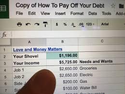 Debt Snowball Spreadsheet 3 U0026 The Best Way To Pay Off All Your Debt U003c3 U0026