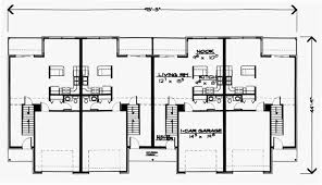 Multi Family Home Floor Plans Townhouse Plans And Multi Family Townhome Designs At