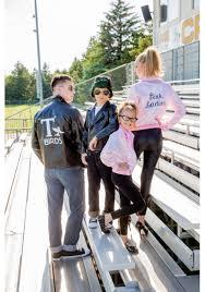 pink ladies costume spirit halloween child grease pink ladies jacket