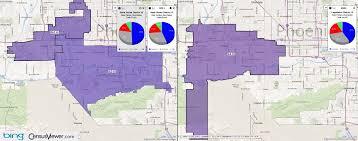 Glendale Arizona Map by Arizona State Legislative District 19 2001 2011 Comparison