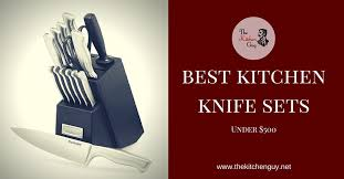 best kitchen knife set reviews the best chef cutlery of 2016