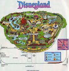 printable map disneyland paris park disneyland park map decorating project