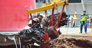 corvette museum collapse corvette museum to fill in sinkhole gm to restore today s motor