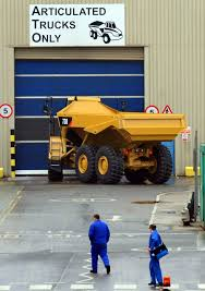 caterpillar in peterlee says it has cut staff numbers the
