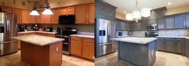 how to refurbish cabinets cabinet refacing vs painting which should you choose