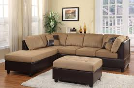 sofa suede sectional sofas dazzling microfiber sectional sofas