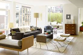 Brown Themed Living Room by Brown Elle Decor Living Rooms Modern Concept All Modern Rugs Cool