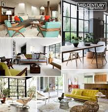 inspiration mid century modern interior design u2013 martyn white designs