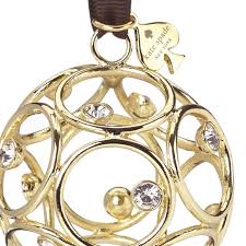 kate spade bejeweled annual ornament 2017 silver superstore