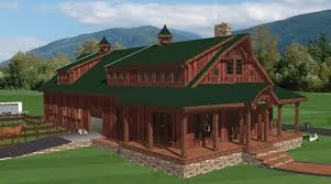 Cool Pole Barns Home Plans Barn With Living Quarters Plans Pole Barns With