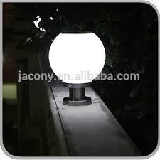 solar powered pillar lights outdoor solar led ball gate light solar powered pillar light with