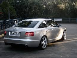 slammed audi a6 pic request 20x9 45 et on a c6 feel free to post others as