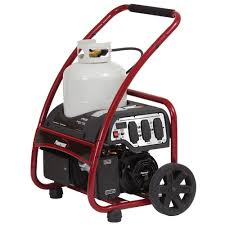 powermate 3 250 watt propane powered manual start portable