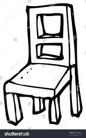 Wooden Chair Clipart Png Cartoon Wooden Chair Stock Illustration 96780655 Shutterstock