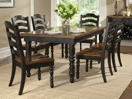 dining room set with bench black dining room table sets black