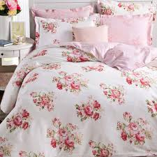 pink rose duvet cover set sweetgalas