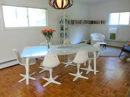vintage our almost tulip dining room chairs u2013 the home tome
