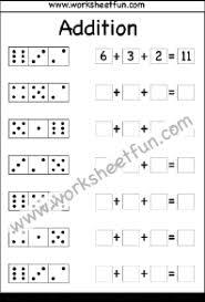 adding 3 numbers addition dice free printable worksheets worksheetfun