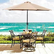 Patio Set Umbrella The 5 Best Patio Umbrella Styles Umbrellify Net
