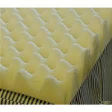 val med 4 inch egg crate foam topper vm 7415
