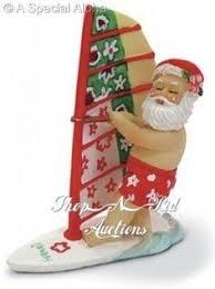 poi people joseph k whale watching santa claus christmas ornament