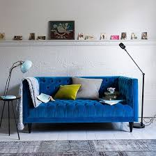 deep blue velvet sofa how to decorate with blue deep blue blue velvet sofa and blue velvet