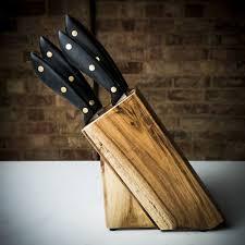 100 sabatier kitchen knives bamboo knife block set from