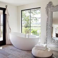 freestanding egg shaped tub design ideas