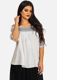black and white blouses s casual tops at discount prices discount fashion tops