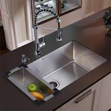kitchen sink and faucet vigo all in one 30 inch stainless steel undermount kitchen sink