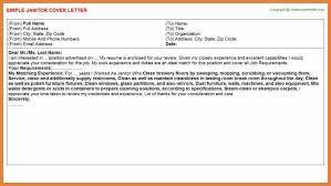 custodian cover letter recommendation letter for custodian excel
