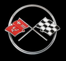 c3 corvette flags a visual history of corvette logos part 1 core77