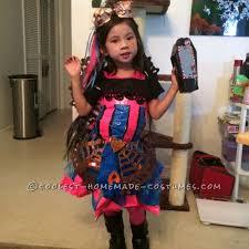 Monster Halloween Costumes Girls Monster Dracubecca Costume