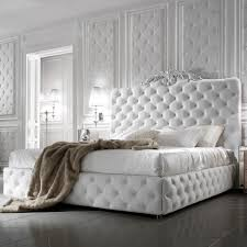 Luxury Bed Frame Exclusive Luxury Italian White Leather Bed Juliettes Interiors
