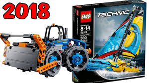 lego technic sets lego technic 2018 official set images winter wave youtube