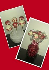 delta sigma theta cake pops i would to make these for my