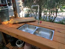 Outdoor Potting Bench With Sink Outdoor Potting Bench State By State Gardening