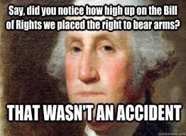 Second Amendment Meme - four words sum up the importance of the second amendment