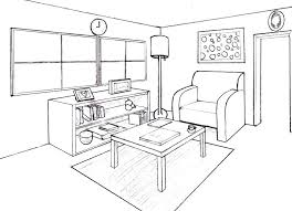 draw room drawing living room how to draw a living room how to draw living