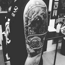 40 lion tattoo ideas on the sleeve