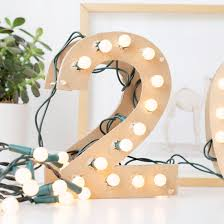 marquee numbers with lights diy light up marquee numbers crafthubs