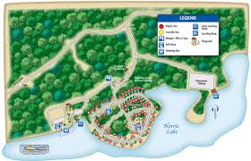 Wisconsin Campgrounds Map by Campground Map Loyston Point Campground
