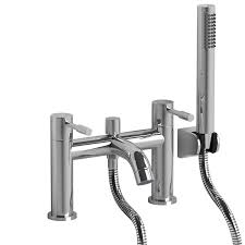 bath taps shower attachment single lever chrome bathroom bath bath taps shower attachment gx52 bath filler tap modern chrome plated brass with